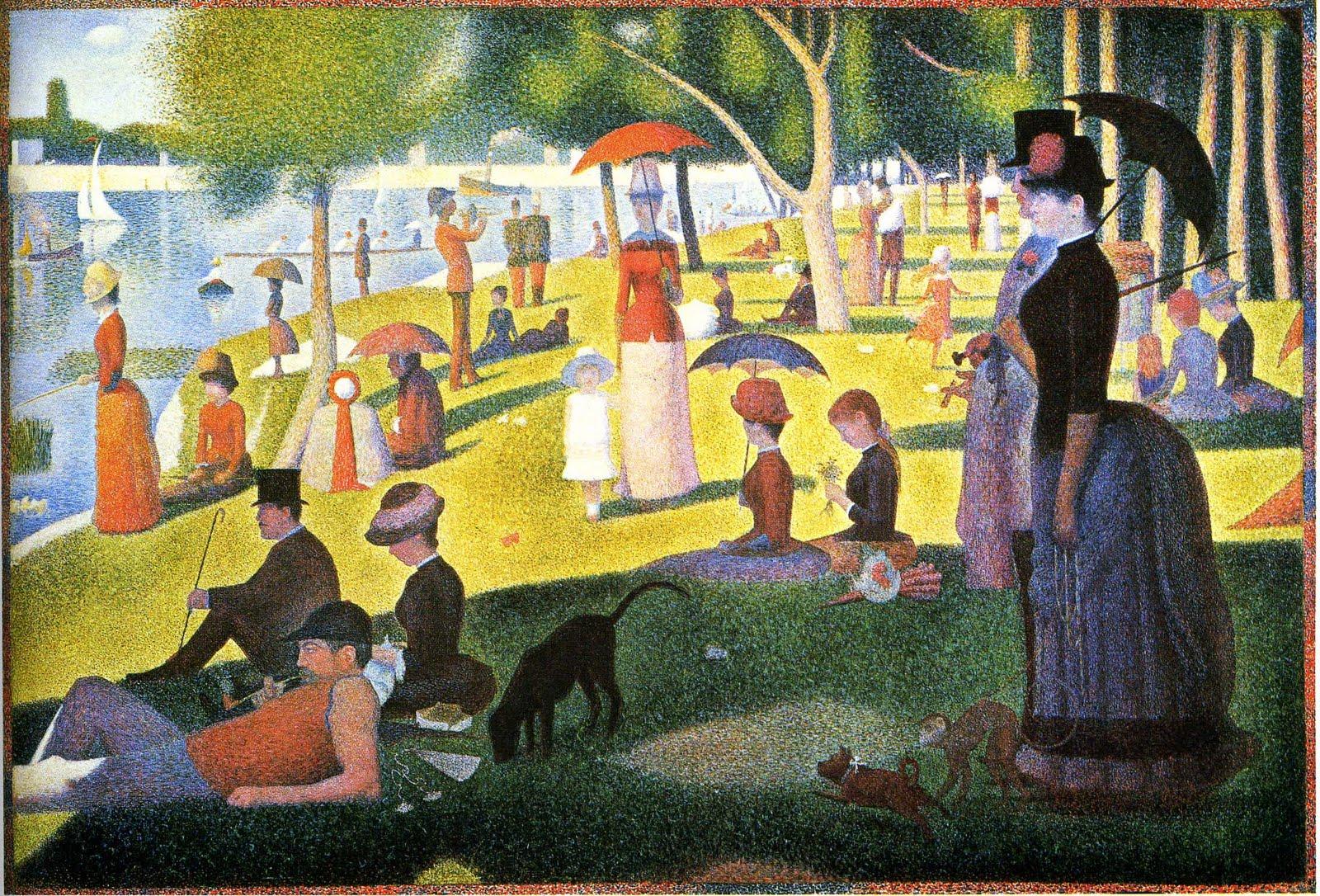 La Grande Jatte, de Georges Seurat