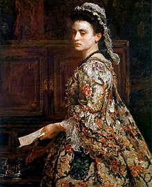 Vanessa, de John Everett Millais