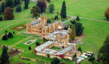 Casa de Damien Hirst en Gloucestershire